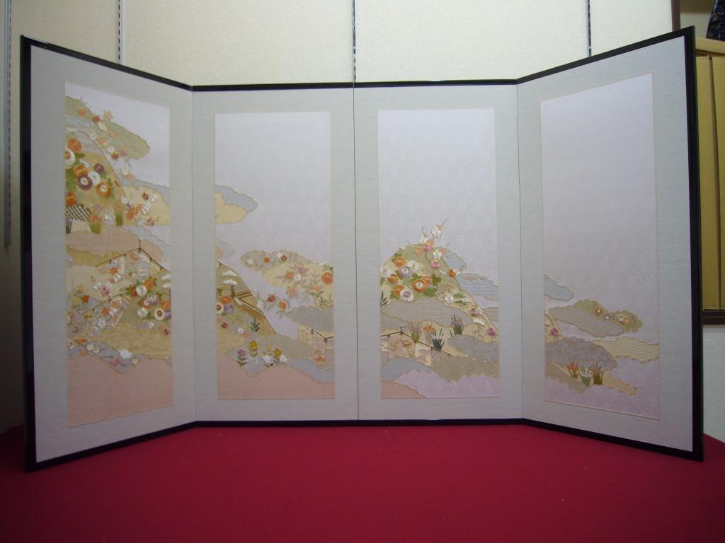 ④スワトウ草花刺繍